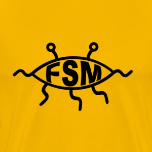Flying Spaghetti Monster - Men's Premium T-Shirt