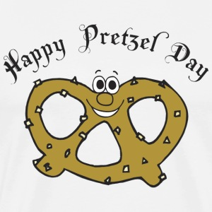 Happy Pretzel Day T-Shirt - Men's Premium T-Shirt