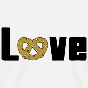 Love Pretzels T-Shirt - Men's Premium T-Shirt