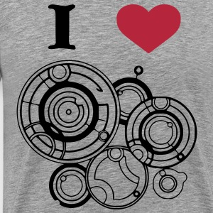 I heart River Song T-Shirts - Men's Premium T-Shirt