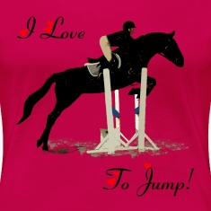 I Love To Jump! Equestrian Horse T-Shirt