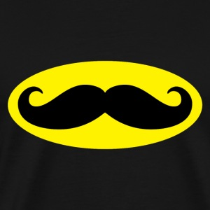 Bat Moustache - Men's Premium T-Shirt
