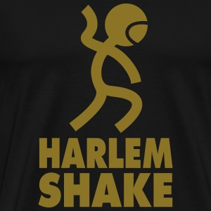 Harlem Shake Dance Metallic Gold - Men's Premium T-Shirt
