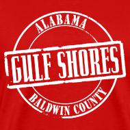 Design ~ Gulf Shores Title Heavyweight T-Shirt