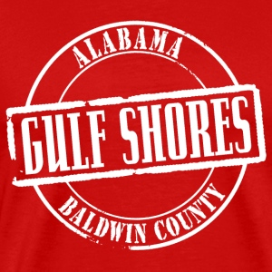 Gulf Shores Title Heavyweight T-Shirt - Men's Premium T-Shirt
