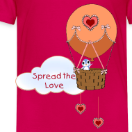 Design ~ Spread the Love toddler t-shirt