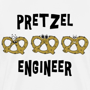 Pretzel Engineer T-Shirt - Men's Premium T-Shirt