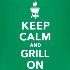 Keep calm and grill on Kids' Shirts - Kids' Premium T-Shirt