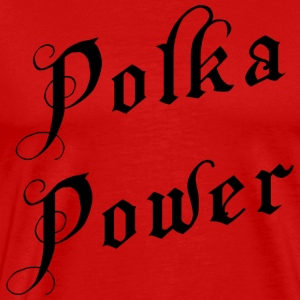 Polka Power T-Shirt - Men's Premium T-Shirt