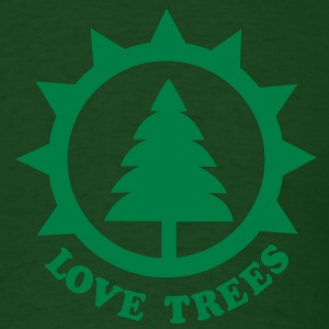 tree hugger T-Shirts - Men's T-Shirt
