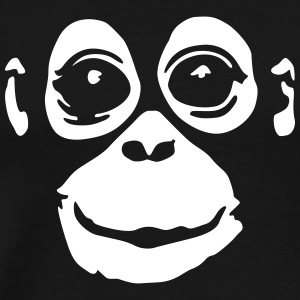 orangutan (negative colors) T-Shirts - Men's Premium T-Shirt