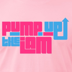 Pump up the jam T-Shirts - Men's T-Shirt by American Apparel