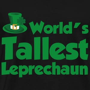World's Tallest Leprechaun - Men's Premium T-Shirt