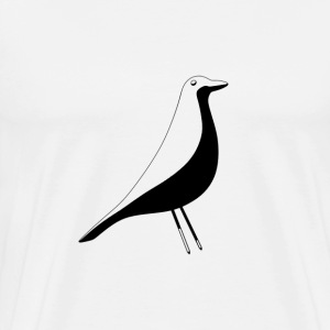 birdy black - Men's Premium T-Shirt