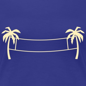 Beach volleyball,volleyball,beach,beach net, sun Women's T-Shirts - Women's Premium T-Shirt