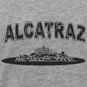 Black Alcatraz - Men's Premium T-Shirt