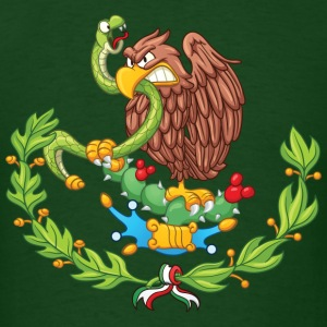 Mexican coat of arms - Men's T-Shirt
