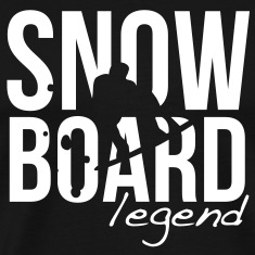 snowboard legend T-Shirts