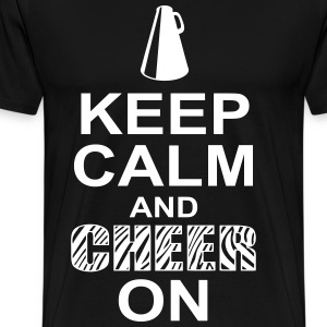 keeep calm and cheer on T-Shirts - Men's Premium T-Shirt