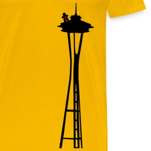 CRFT.EE Space Needle - Men's Premium T-Shirt