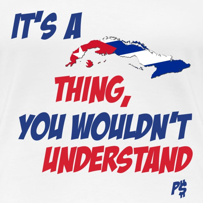 Its Cuban Thing WOMEN'S FITTED