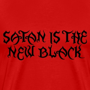 Satan is the new black 1 T-Shirts - Men's Premium T-Shirt