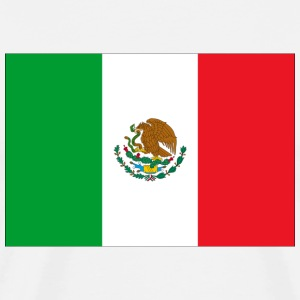 Mexican Flag T-Shirt - Men's Premium T-Shirt