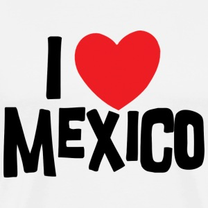 I Love Mexico T-Shirt - Men's Premium T-Shirt