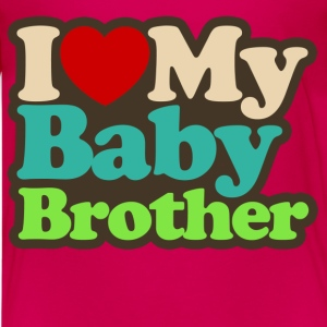 i love my baby brother - Kids' Premium T-Shirt