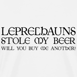 Leprechauns Stole My Beer - Men's Premium T-Shirt