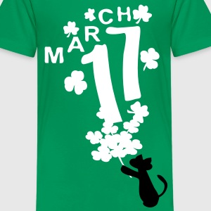 March 17  lucky day  st.patty's day Kids' T-Shirt - Kids' Premium T-Shirt