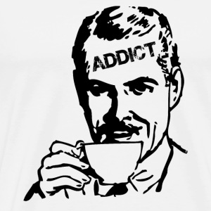 Coffee Addict - Men's Premium T-Shirt