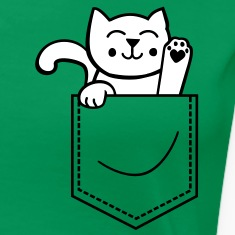kitty in pocket Women's T-Shirts