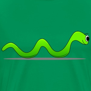green worm - Men's Premium T-Shirt