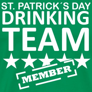 st. patrick´s day drinking team member T-Shirts - Men's Premium T-Shirt