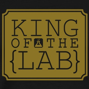 King of the Lab (1c) T-Shirts - Men's Premium T-Shirt