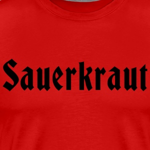 German Sauerkraut T-Shirt - Men's Premium T-Shirt