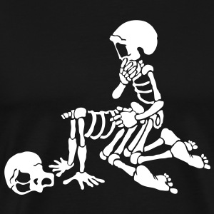 love sex and skeleton - Men's Premium T-Shirt