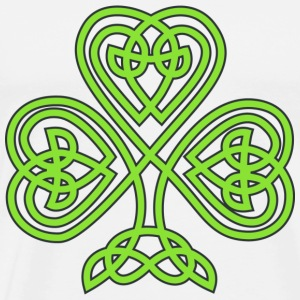 Celtic Shamrock - Men's Premium T-Shirt