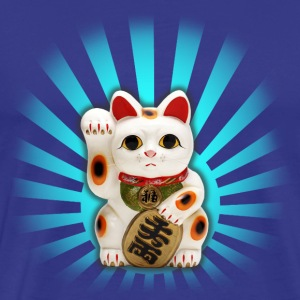 Lucky Cat (Maneki-neko) - Men's Premium T-Shirt