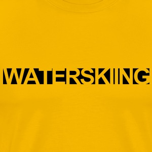 WATERSKI,WATER, WAKEBOARD, MONOSKI, SKI, RIDE T-Shirts - Men's Premium T-Shirt