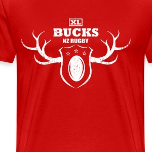 XL Bucks NZ Rugby T-Shirt Dark - Men's Premium T-Shirt