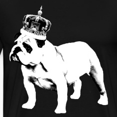 English Bulldog and Crown T-Shirts