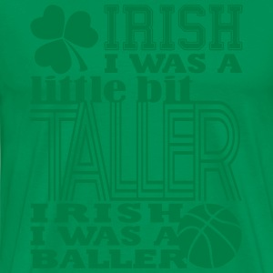 St. Patrick's Madness Irish Baller - Men's Premium T-Shirt