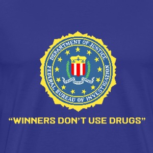 Winners don't use drugs - Men's Premium T-Shirt