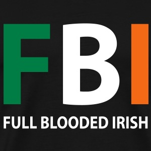 fbi full blooded irish T-Shirts - Men's Premium T-Shirt