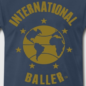 INTERNATIONAL BALLER T-Shirts - Men's Premium T-Shirt