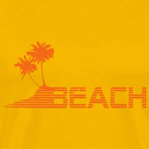 beach T-Shirts - Men's Premium T-Shirt