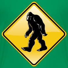 Bigfoot Road Sign