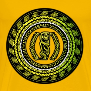 polynesian rhythms - Men's Premium T-Shirt